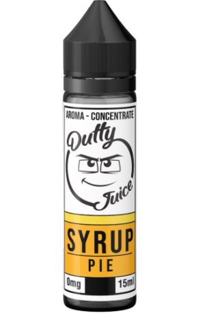 Dutty Juice Syrup Pie